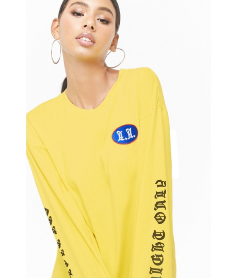 Imbracaminte Femei Forever21 One Night Only Graphic Top YELLOWMULTI