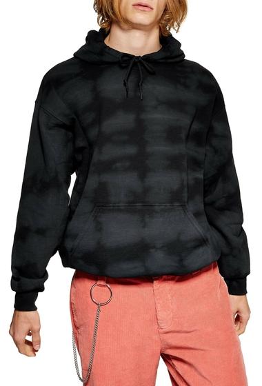 Imbracaminte Barbati TOPMAN Tie Dye Hoodie BLACK MULTI
