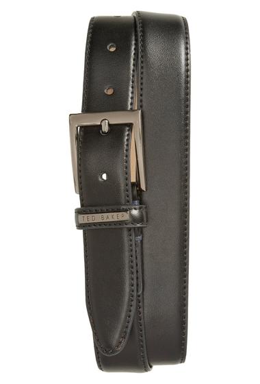 Accesorii Barbati Ted Baker London Lizwiz Leather Belt BLACK