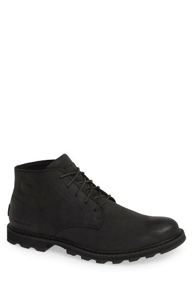 Incaltaminte Barbati SOREL Madson Waterproof Boot Men BLACKBLACK