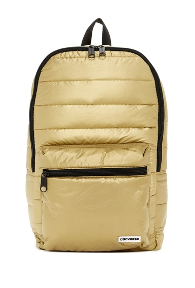 Genti Barbati Converse Packable Gold-Toned Backpack GOLD