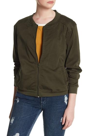 Imbracaminte Femei UNIONBAY Twill Bomber Jacket OLIVE BRAN