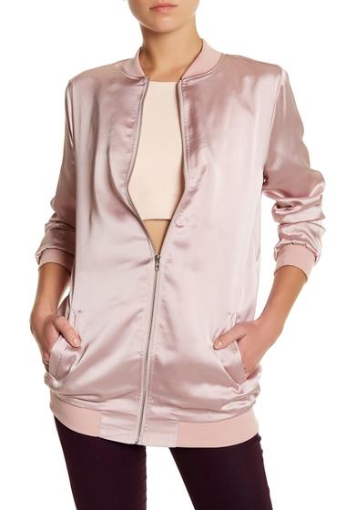 Imbracaminte Femei Missguided Satin Varsity Jacket MAUVE