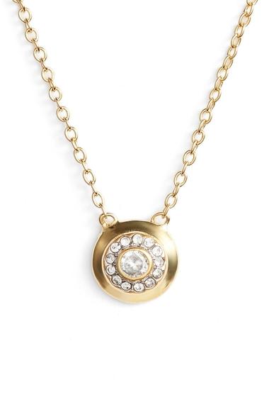 Bijuterii Femei Vince Camuto Round Pendant Necklace GOLD