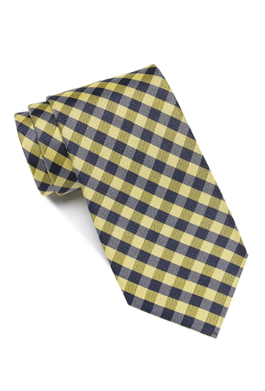 Accesorii Barbati Tommy Hilfiger Greenpoint Gingham Tie YELLOW