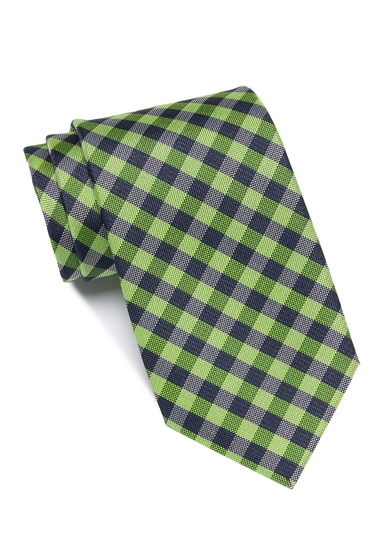 Accesorii Barbati Tommy Hilfiger Greenpoint Gingham Tie CELERY