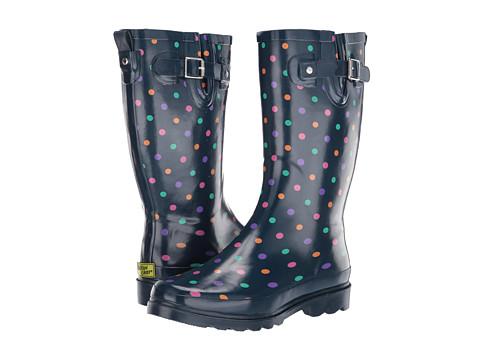 Incaltaminte Femei Western Chief Simple Dot Rain Boot Navy