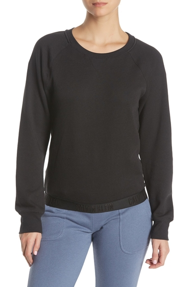 Imbracaminte Femei Calvin Klein Monchrome Sweatshirt 001 BLACK