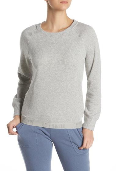Imbracaminte Femei Calvin Klein Monchrome Sweatshirt 020 GREY HEATHE