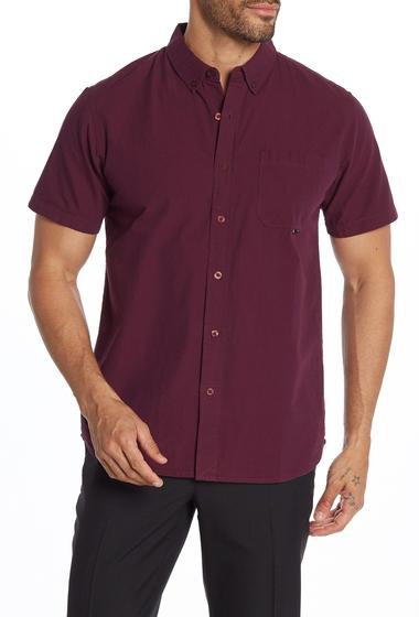 Imbracaminte Barbati Tavik Pico Short Sleeve Regular Fit Shirt OXBLOODNAVY BLUE