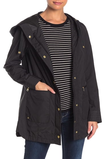 Imbracaminte Femei Cole Haan Packable Hooded Jacket BLACK