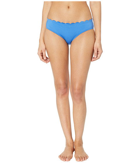 Imbracaminte Femei Kate Spade New York Core Solids 79 Scalloped Hipster Bikini Bottom Wild Cornflower