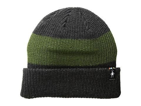 Accesorii Barbati Smartwool Snow Seeker Ribbed Cuff Hat Charcoal Heather