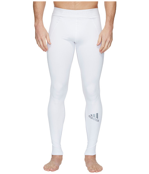 Imbracaminte Barbati adidas Alphaskin Sport Long Tights White