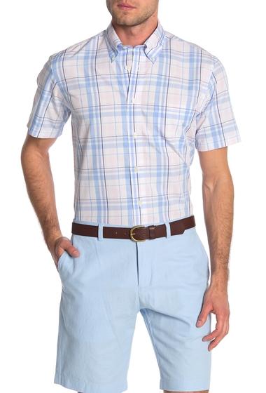 Imbracaminte Barbati Brooks Brothers Regent Plaid Short Sleeve Shirt OPN PINK