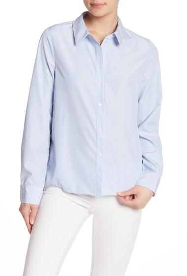 Imbracaminte Femei English Factory Lace Combo Stripe Blouse BLUE