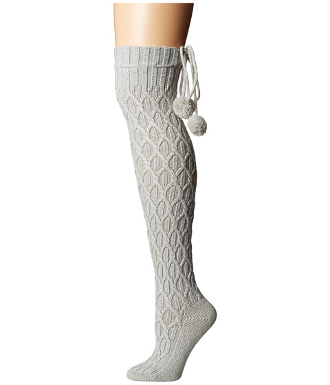 Imbracaminte Femei UGG Sparkle Cable Knit Socks Grey Violet