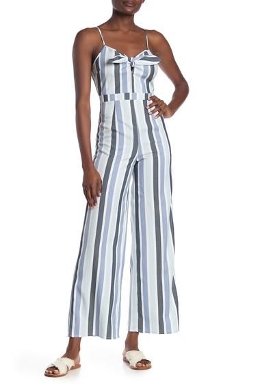 Imbracaminte Femei Romeo Juliet Couture Printed Wide Leg Jumpsuit BLUE COMBO