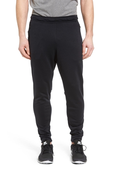 Imbracaminte Barbati Nike Hyper Fleece Pants BLACKBLACK