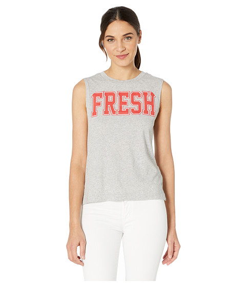 Imbracaminte Femei Juicy Couture Fresh Cut Off Graphic Muscle Tank Heather Cozy