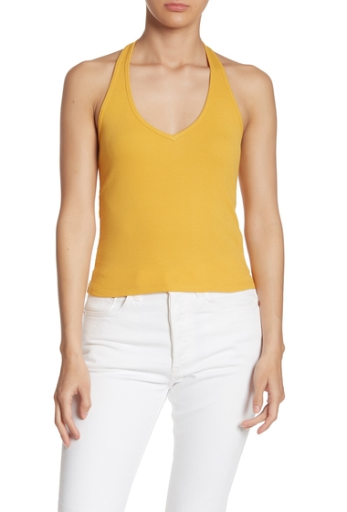Imbracaminte Femei Abound Solid Halter Top YELLOW MINERAL