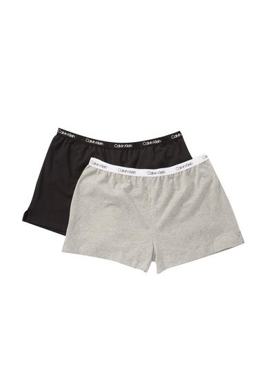 Imbracaminte Femei Calvin Klein Sleep Shorts - Pack of 2 BGH BLACKGRY H