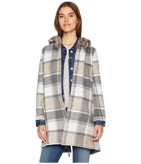Imbracaminte Femei BB Dakota You Oughta Know Fuax Fur Hood Coat Tan