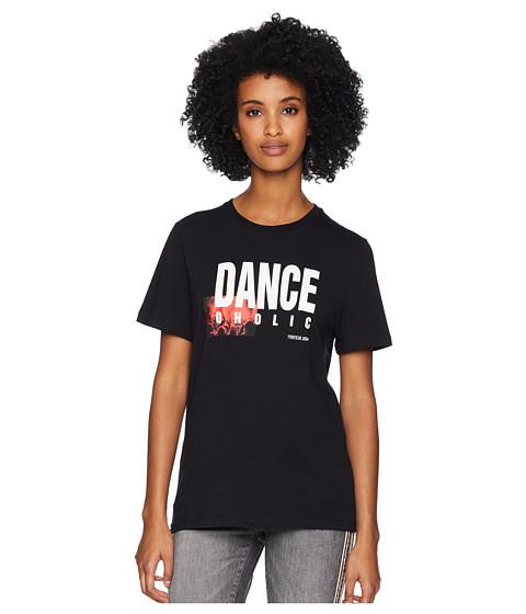 Imbracaminte Femei NEIL BARRETT Dance-Oholic T-Shirt BlackWhiteRed
