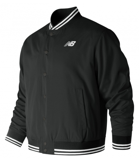 Imbracaminte Barbati New Balance Men's Essentials Stadium Jacket Black