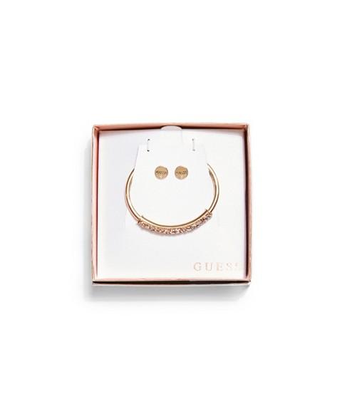 Bijuterii Femei GUESS Gold-Tone Bangle and Earrings Gift Set gold