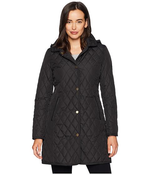 Imbracaminte Femei LAUREN Ralph Lauren Faux Leather 34 Quilt Black