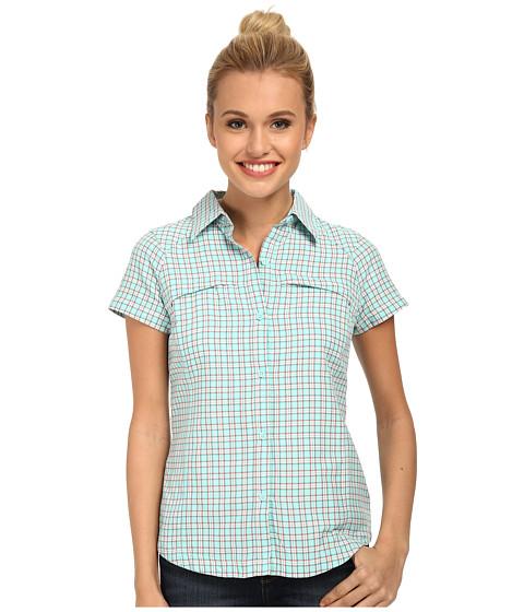 Imbracaminte Femei Columbia Silver Ridgetrade Multiplaid SS Shirt Candy Mint Small Ripstop