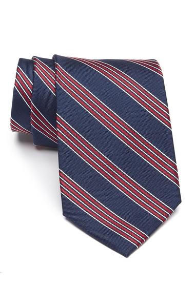 Accesorii Barbati Tommy Hilfiger Cordered Stripe Tie RED