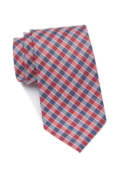 Accesorii Barbati Tommy Hilfiger Mini Gingham Tie RED