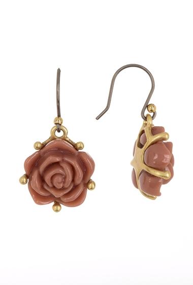 Bijuterii Femei Lucky Brand Pink Rose Drop Earrings GOLD