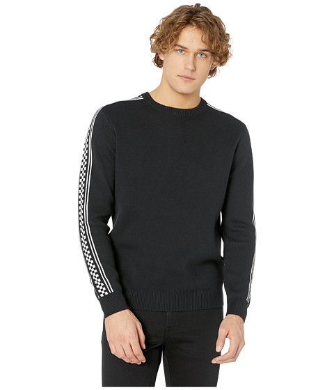 Imbracaminte Barbati Vans Check Yo Sleeve Sweater Black