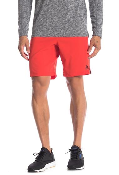 Imbracaminte Barbati Reebok Contrast Drawstring Athletic Shorts CANTON RED