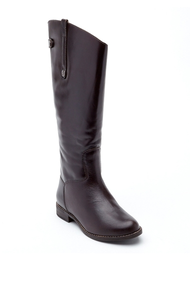 Incaltaminte Femei Matisse Yorker Wide Calf Leather Riding Boot CAFE