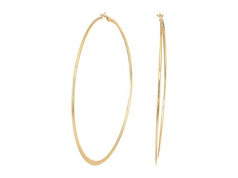 Bijuterii Femei GUESS Extra Large Flat Bottom Hoop Earrings Gold