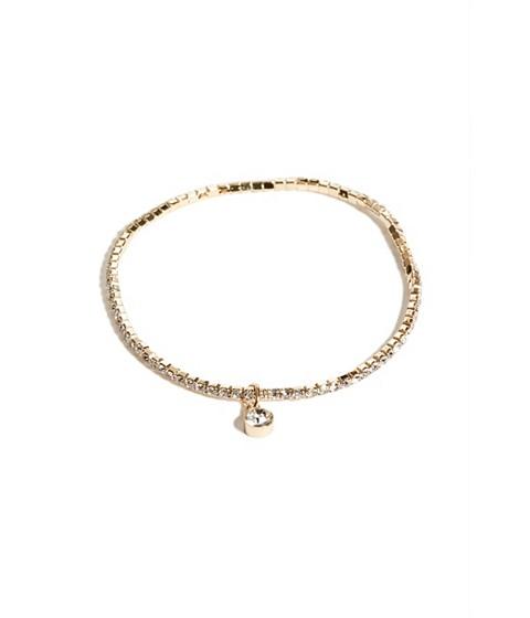 Bijuterii Femei GUESS Gold-Tone Rhinestone Stretch Bracelet gold