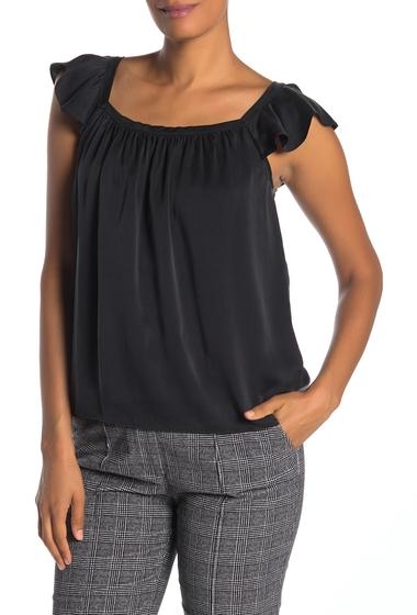 Imbracaminte Femei Rebecca Taylor Charm Ruffle Detail Silk Blouse BLACK