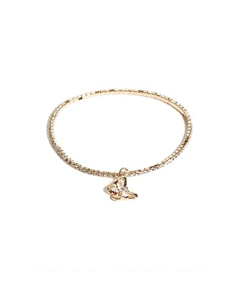 Bijuterii Femei GUESS Gold-Tone Butterfly Stretch Bracelet gold