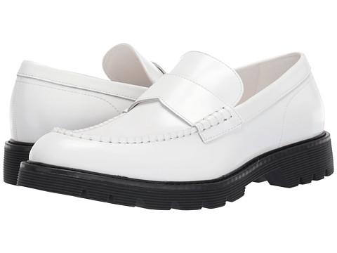 Incaltaminte Barbati Calvin Klein Fletcher White Brush-Off Box Leather