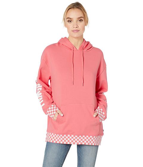 Imbracaminte Femei Vans Centrl Hoodie Strawberry Pink