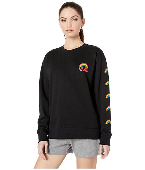 Imbracaminte Femei Vans Make It Rainbow Crew Black