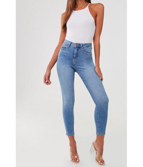 Imbracaminte Femei Forever21 The Sunset Super High-Rise Curvy Jeans DENIM