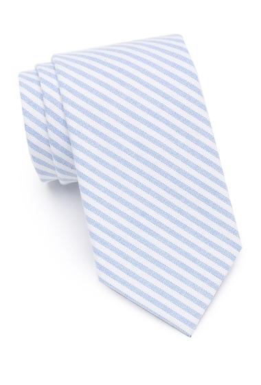 Accesorii Barbati Tommy Hilfiger Bright Micro Stripe Tie LIGHT BLUE