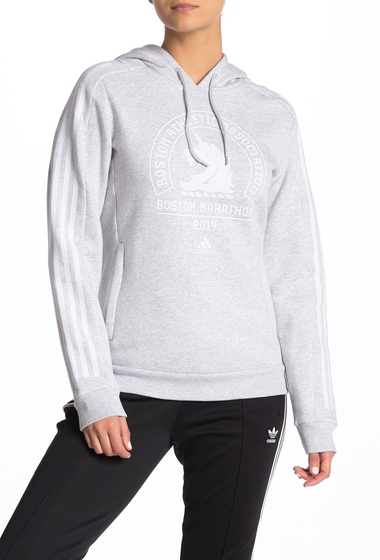 Imbracaminte Femei adidas Boston Marathon Logo Hoodie LGREYH