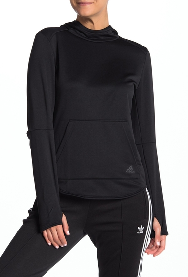 Imbracaminte Femei adidas Hooded Climalite Pullover BLACK