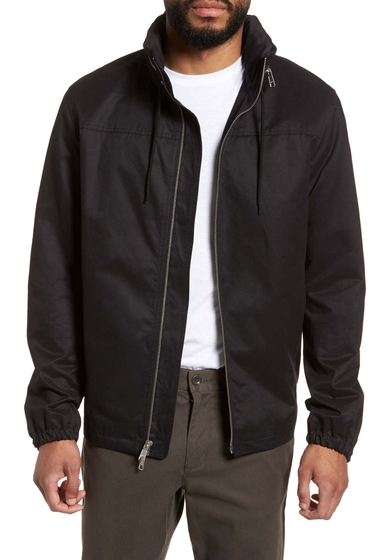 Imbracaminte Barbati Vince Regular Fit Hooded Jacket BLACK
